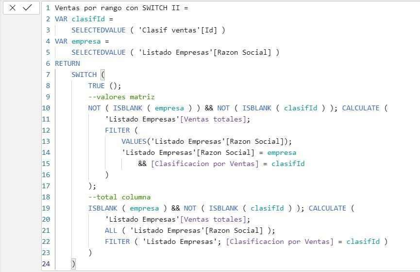 dataXbi - Medida clasificación ventas switch II